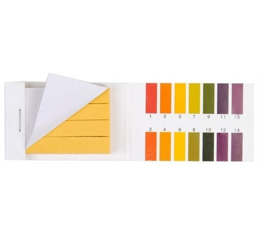 pH test strips lakmoespapier