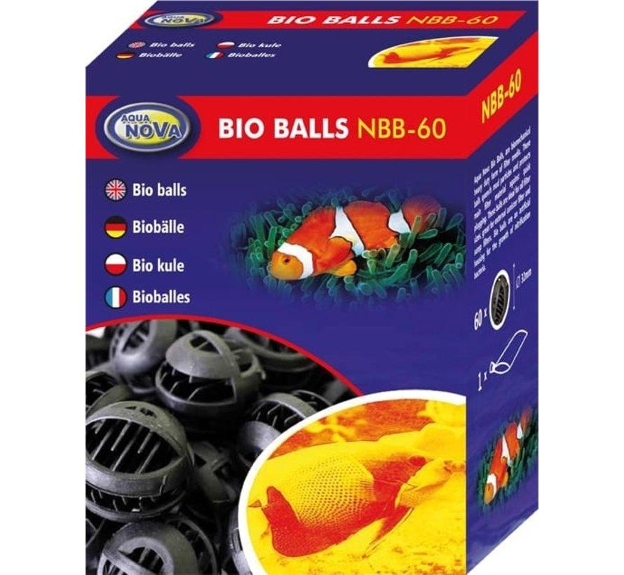 Aqua Nova biologische filterballen 60 stuks