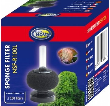 Aqua Nova Aqua Nova bol sponsfilter tot 100L - NSF-R100L