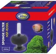 Aqua Nova Aqua Nova bol sponsfilter tot 200L - NSF-R200L