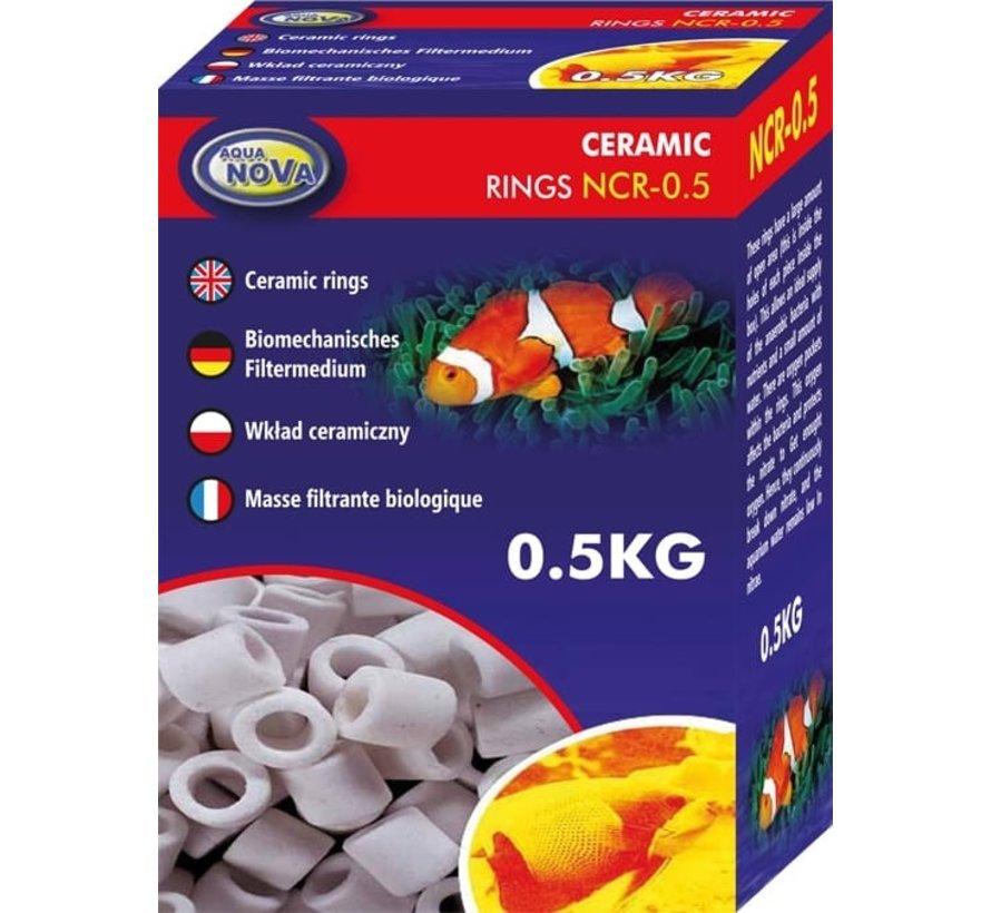 Aqua Nova keramische pijpjes - 0,5 of 1kg