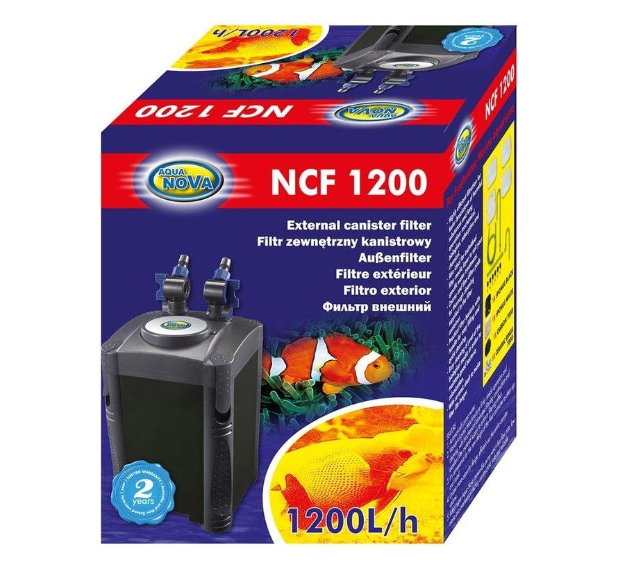 Aqua Nova NCF-1200 extern aquariumfilter - 1200l/h