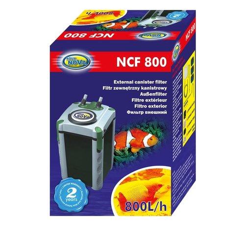 Aqua Nova Aqua Nova NCF-800 extern aquariumfilter - 800l/h