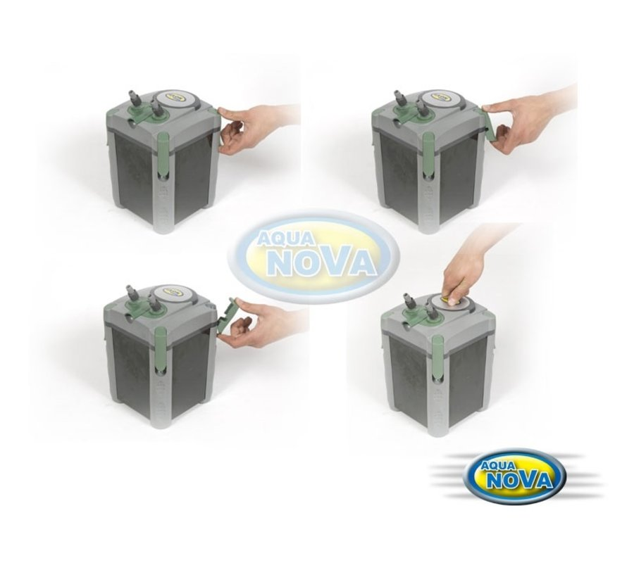 Aqua Nova NCF-800 extern aquariumfilter - 800l/h