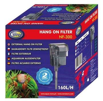 Aqua Nova Aqua Nova NF-300 hang-on filter - 160l/h