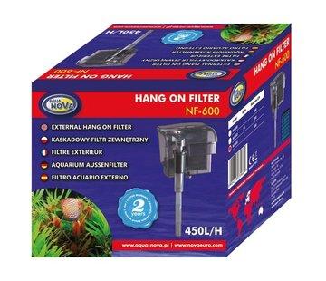 Aqua Nova Aqua Nova NF-600 hang-on filter - 450l/h