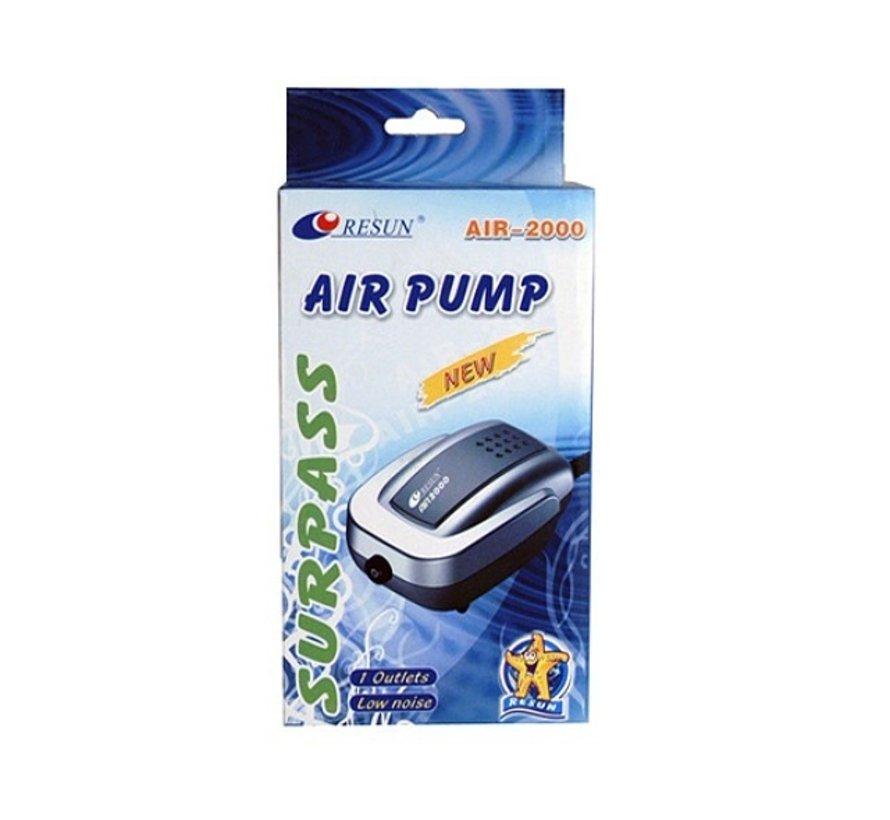 Resun Air 2000 luchtpomp