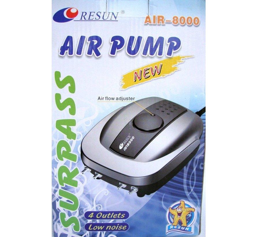 Resun Air 8000 luchtpomp