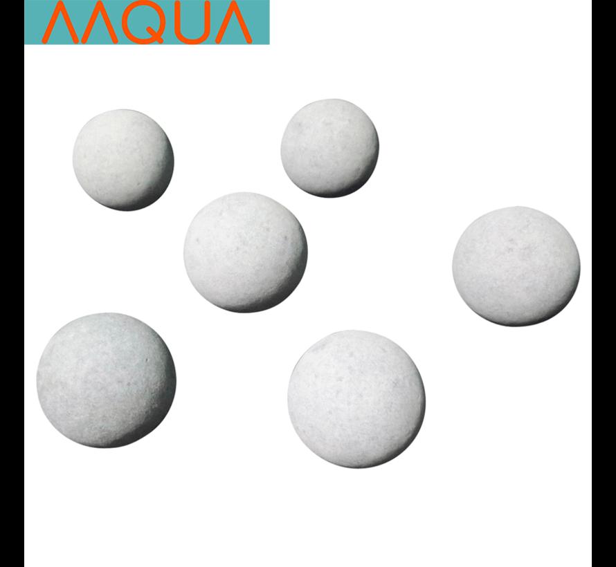 AAQUA Tourmaline garnalen mineraal balletjes groot (2,5cm)