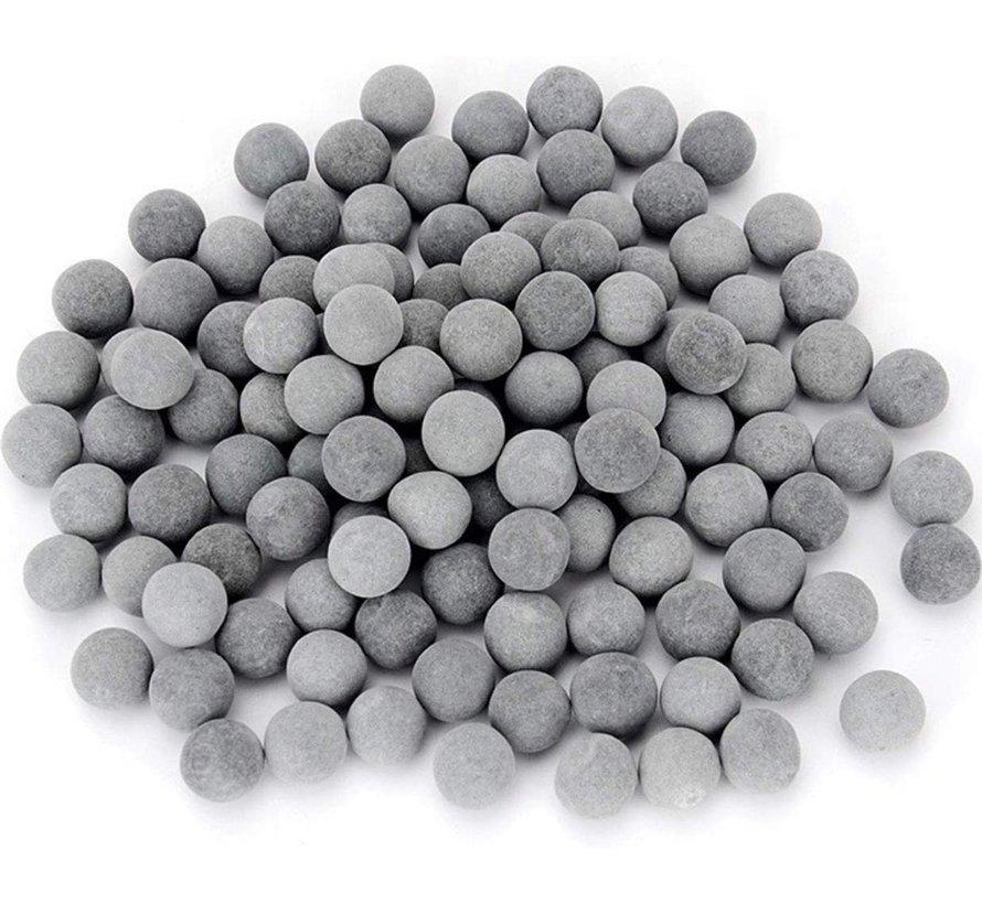 AAQUA Tourmaline garnalen mineraal balletjes klein (1cm)