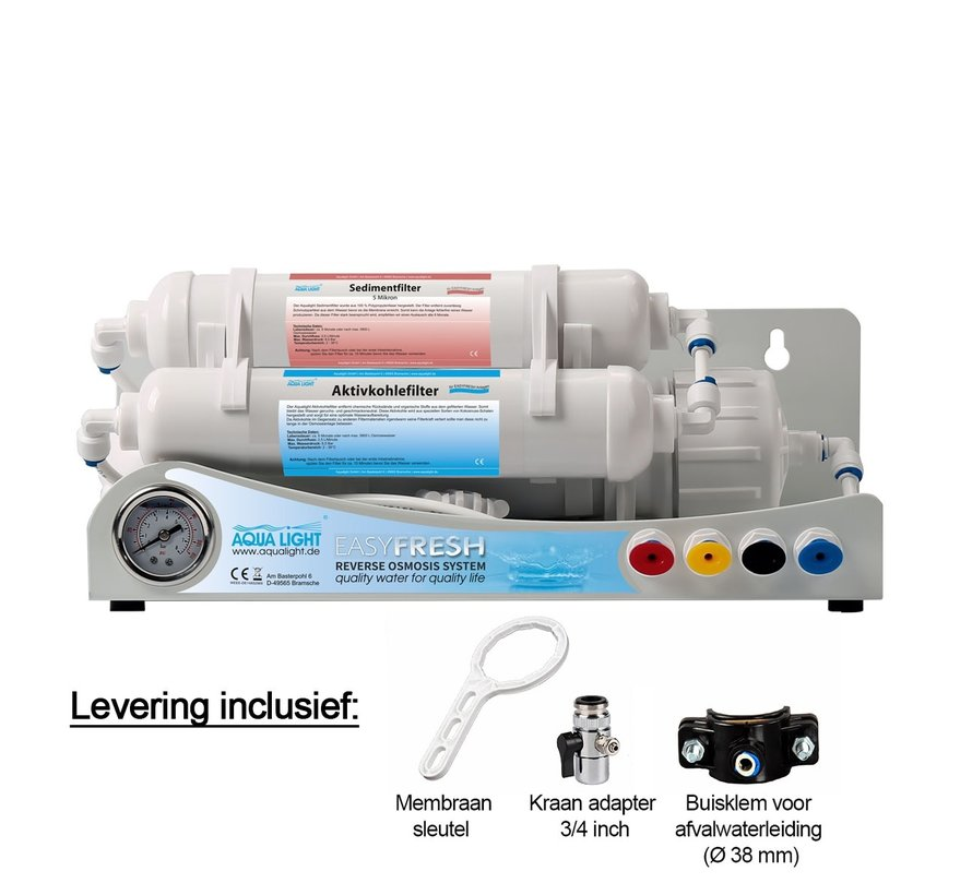 EasyFresh osmoseapparaat 50 GPD - 190L