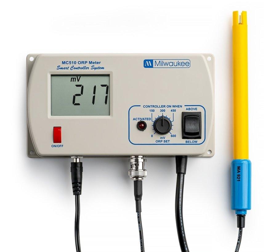 Milwaukee MC510 ORP Controller incl. MA921B/2 ORP Electrode