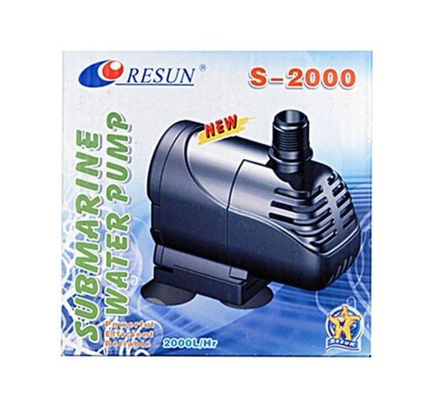 Resun S-2000 aquariumpomp dompelpomp - 2050 L/H