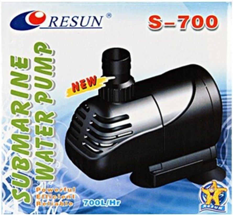 Resun S-700 aquariumpomp dompelpomp - 700 L/H