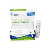 Aquarium Munster Aquavital Multitest marine 5in1 50 teststrips zeewater