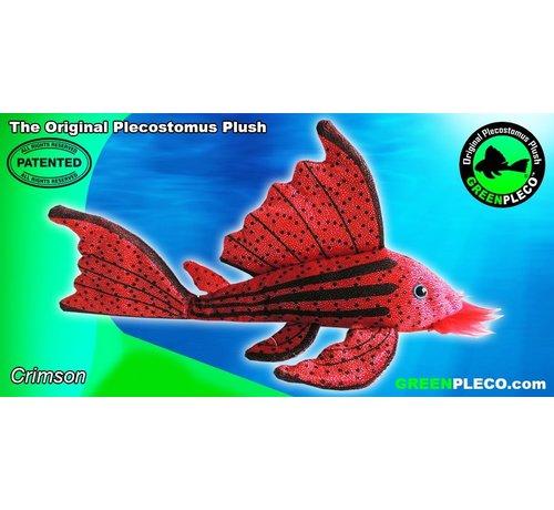 GreenPleco GreenPleco Serie 3 knuffel - Crimson