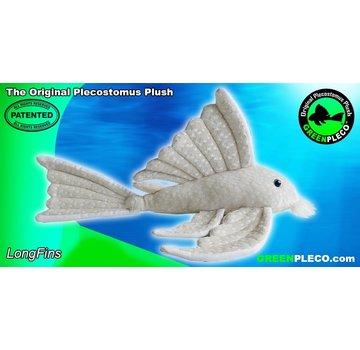 GreenPleco GreenPleco Serie 3 knuffel - Long fins