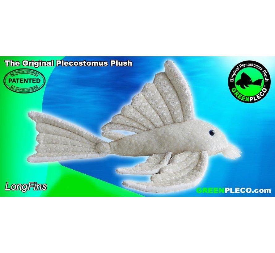 GreenPleco Serie 3 knuffel - Long fins