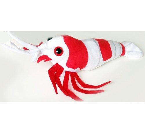GreenPleco GreenPleco Serie 5 knuffel - Crystal red shrimp