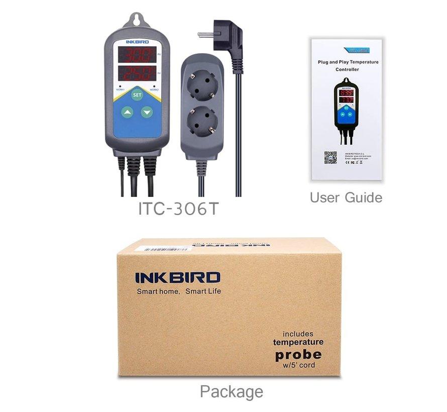 Inkbird ITC-306T temperatuur controller voor aquarium