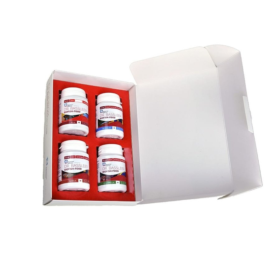 Dr. Bassleer Biofish Foodbox (4x 60g)