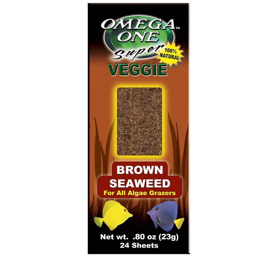 Omega One Brown seaweed - zeewierbladeren