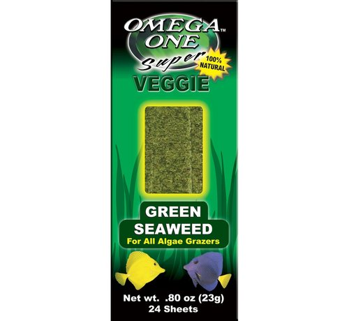 Omega One Omega One Green seaweed - zeewierbladeren
