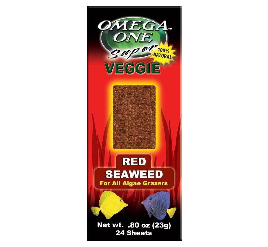Omega One Red seaweed - zeewierbladeren