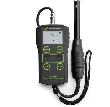 Milwaukee Milwaukee MW-801 gecombineerde digitale pH + EC + TDS meter