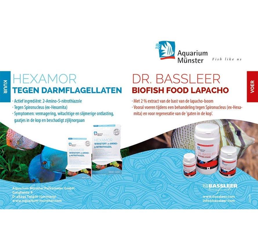 Behandeling darmflagellaten Hexamor + Lapacho