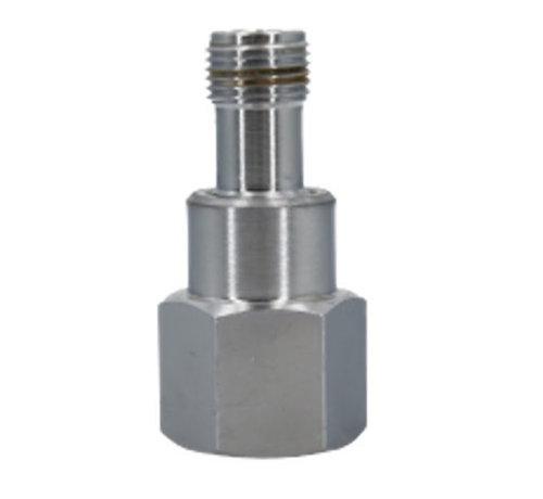 Aqua-Noa CO2 Adapter 15 - Dennerle wegwerp M10x1,25 naar Sodastream fles