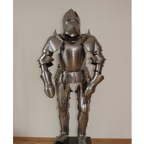 Early 15th century suit of armor Milanese style