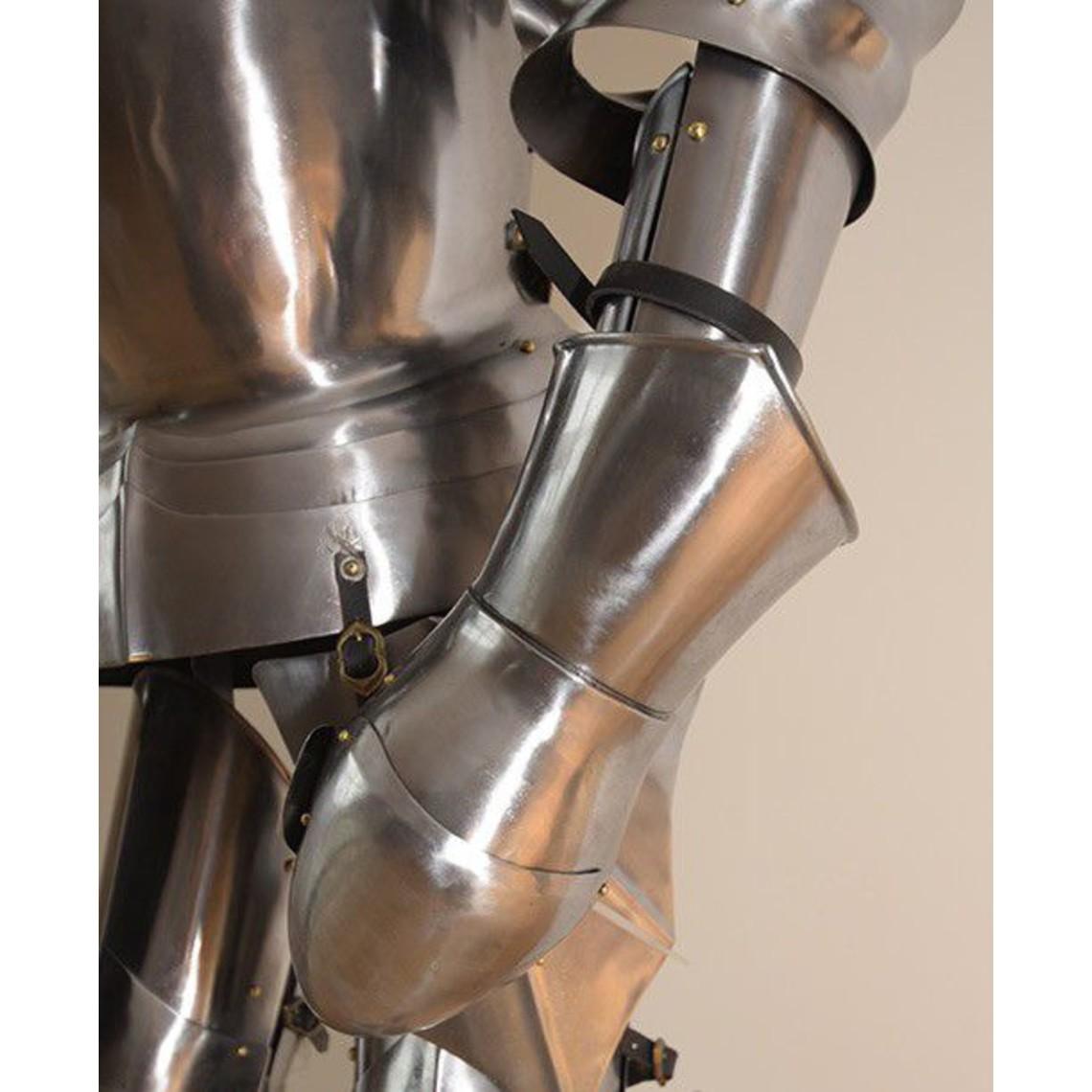 Deepeeka Traje de siglo 15 a principios de la milanesa armadura