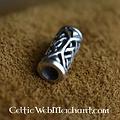 Keltische baardkraal zilver