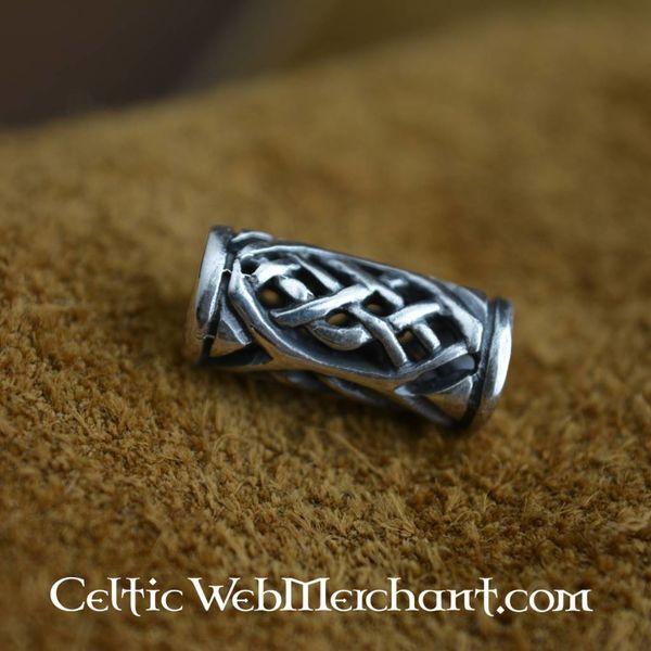 Celtic Bart Perle Silber