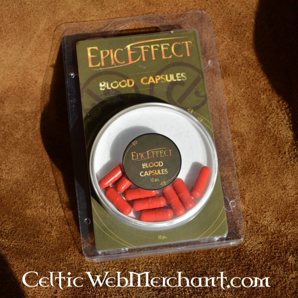 Epic Armoury Cápsulas de sangre, 10 piezas, accesorios LARP