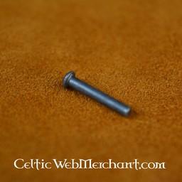 100 remaches de acero de 8 mm