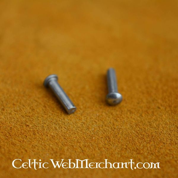 100 stål nitter 8 mm