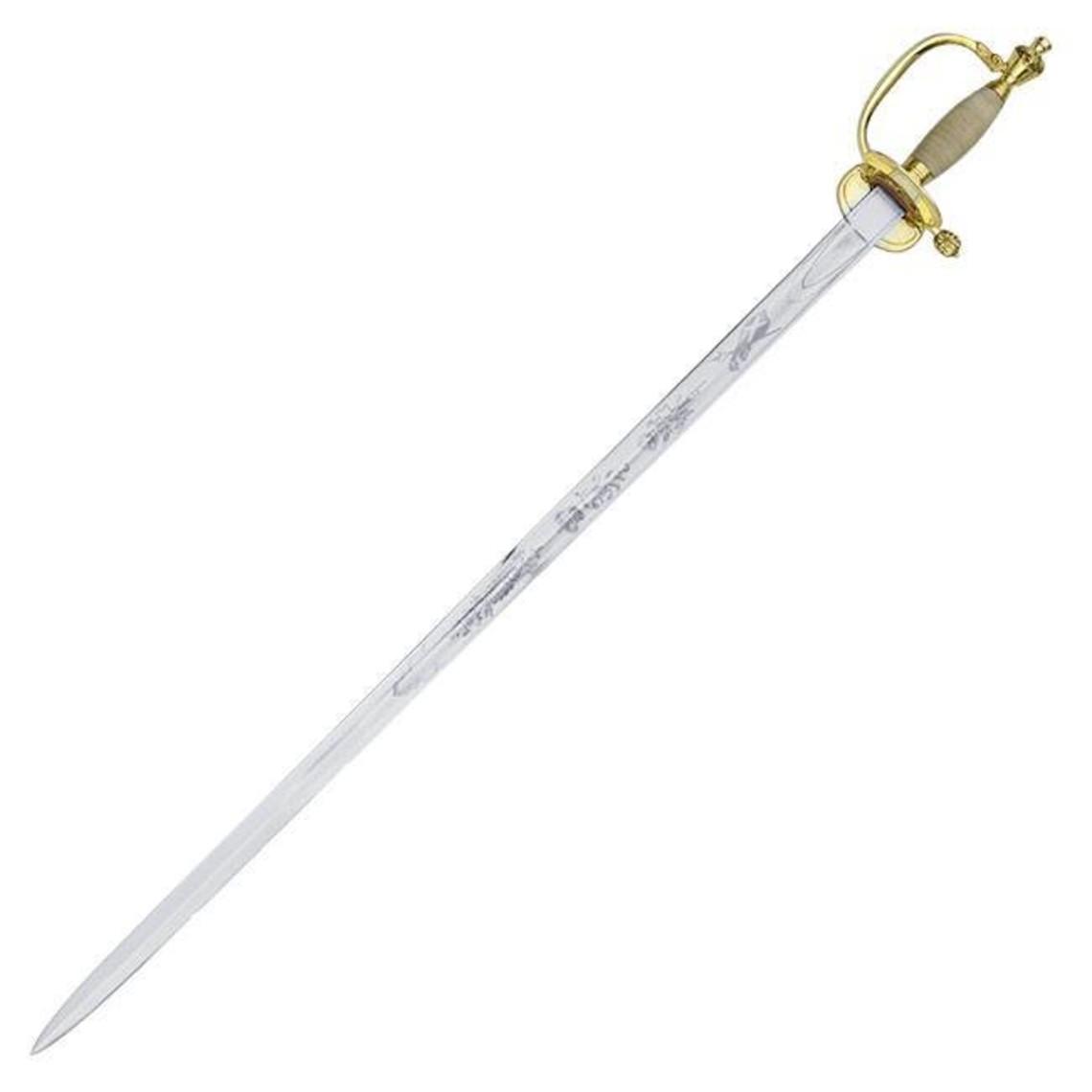 Universal Swords sable de oficial británico 1796