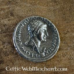 Denar Kleopatra und Marcus Antonius