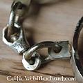 Deepeeka IJzeren middeleeuwse handboeien