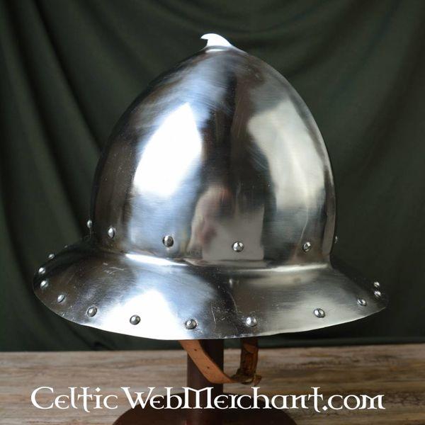 Marshal Historical Bourgondian Cabasset fra det 15. århundrede, 2 mm