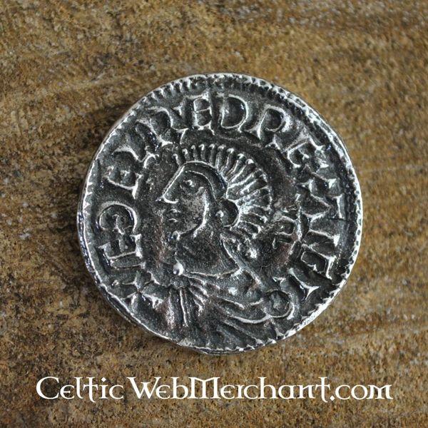 Anglosaxiska coin Aethelred II