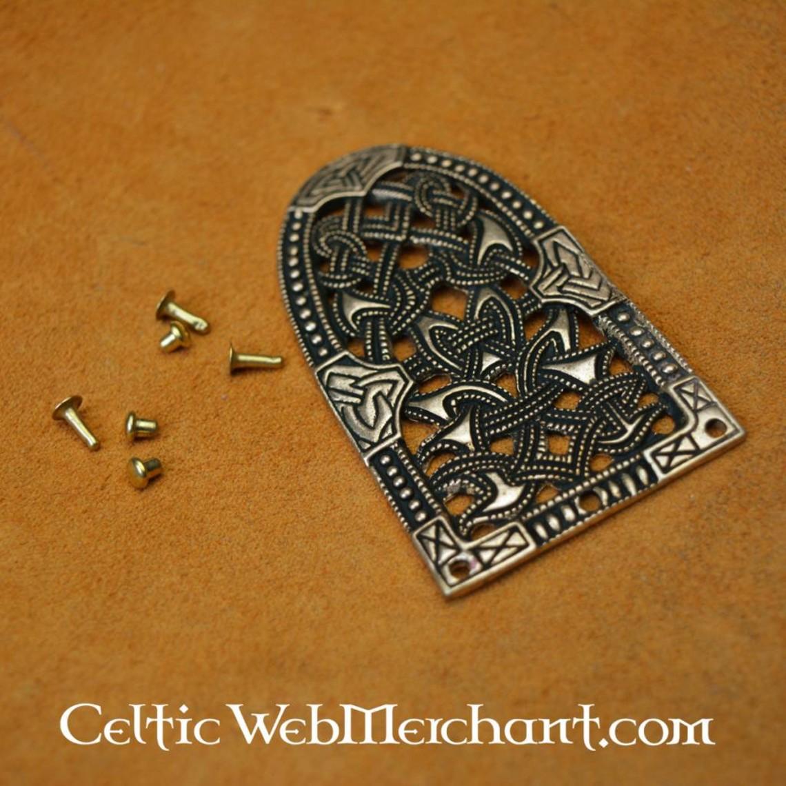 Gokstad riembeslag brons