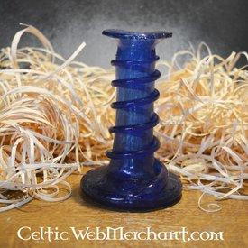 Chandelier unguentarium bleu