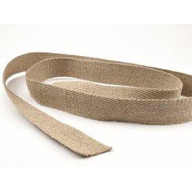Banda de cintura en espiga 100% lino