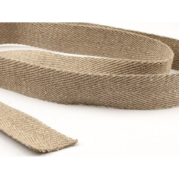 Herringbone Taillenband aus 100% Leinen