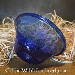 Merowingów dłoni kubek niebieski