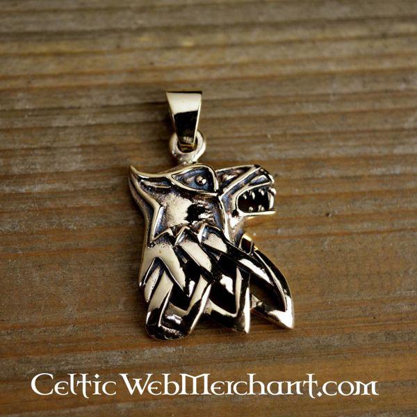 Bronze Fenris pendant
