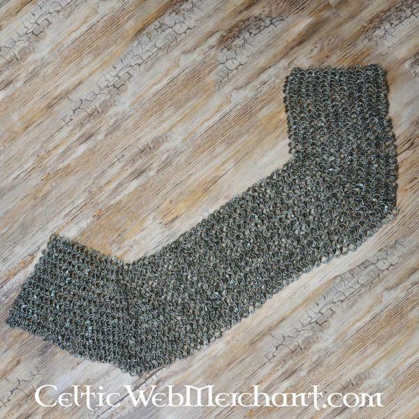 Ulfberth Maliën schouderstuk, gemixte platte ringen - wigvormige klinknagels, 8 mm